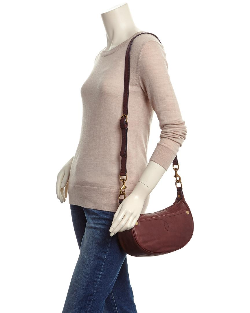 8b5eb70227 Lyst - Frye Campus Small Rivet Leather Crossbody in Red