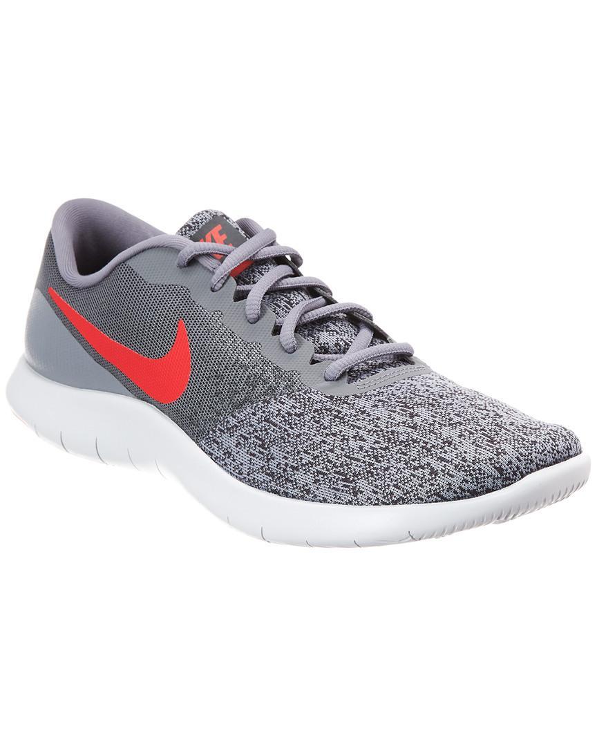 0cd9fa0e0dea Lyst - Nike Flex Contact Mesh Running Shoe in Gray for Men - Save 12%