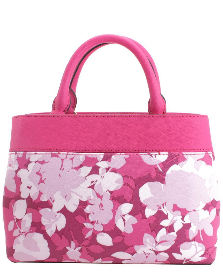 cfc408ebf1fd Lyst - Michael Kors Hailee Leather Satchel in Pink