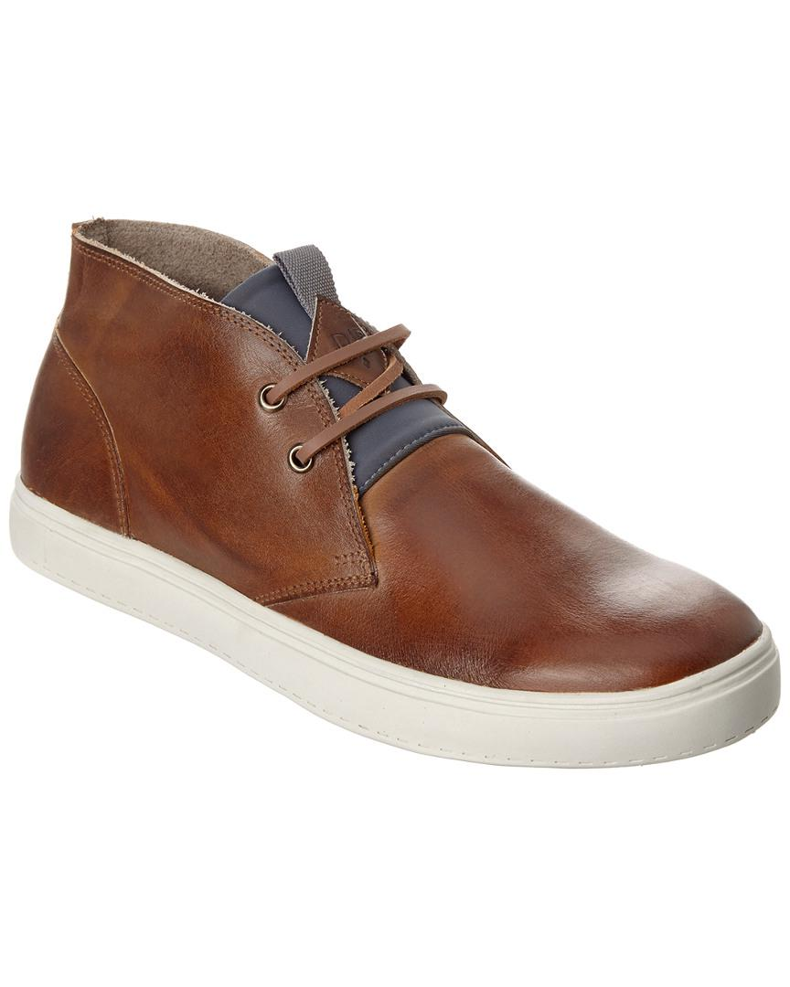 4495f283ff813c Donald J Pliner Paxton Leather Chukka Sneaker in Brown for Men ...