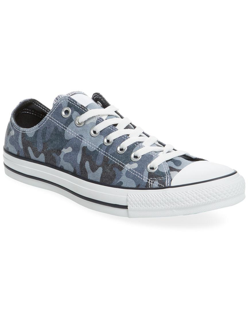 c604af50ee9f Lyst - Converse Chuck Taylor All Star Camo Ox Low Top Sneaker in ...