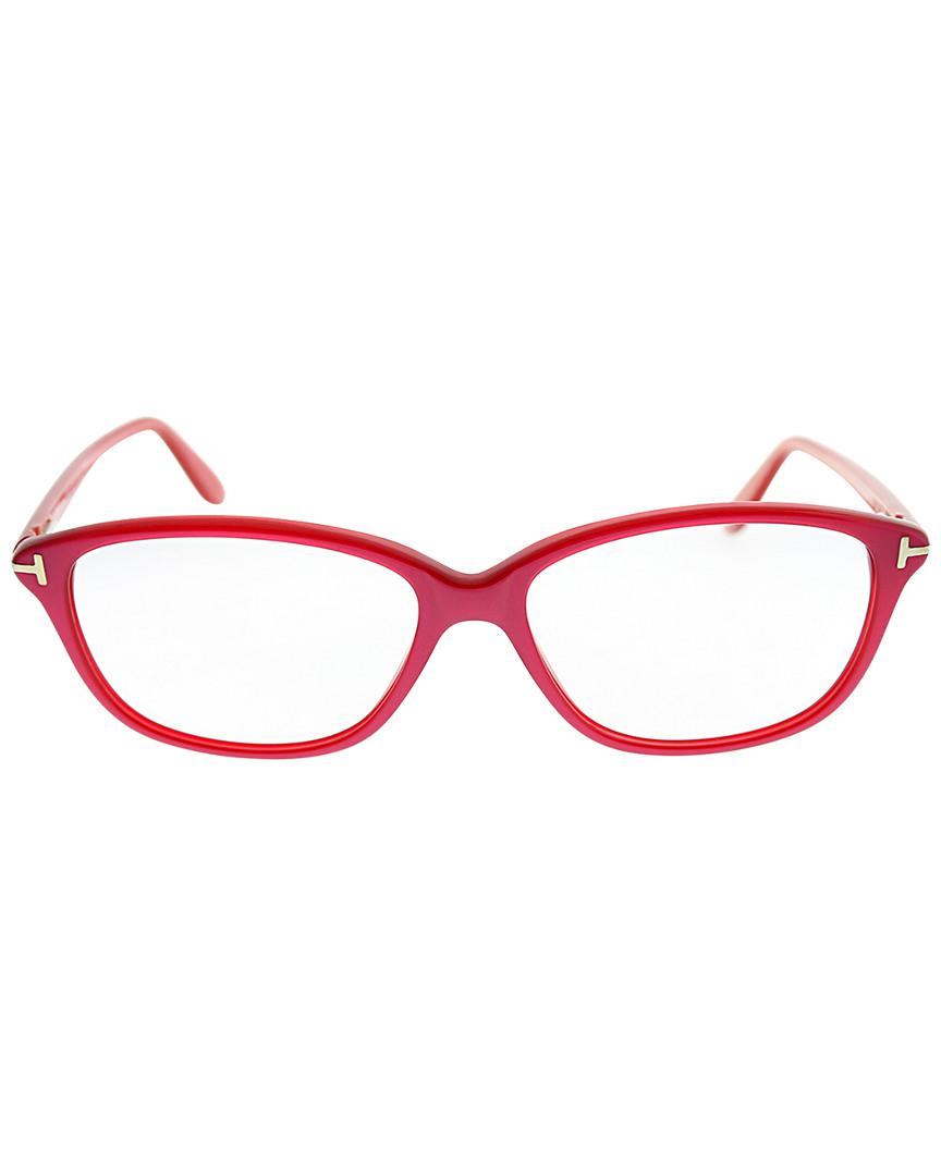 34be22f9799 Lyst - Tom Ford 54mm Optical Frames in Red