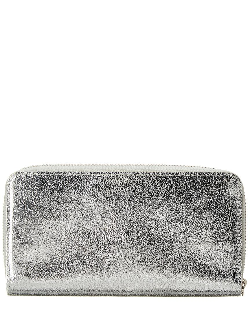 e4e6dbdb7f8c Lyst - Louis Vuitton Limited Edition Silver Suhali Leather Zippy Wallet in  Metallic