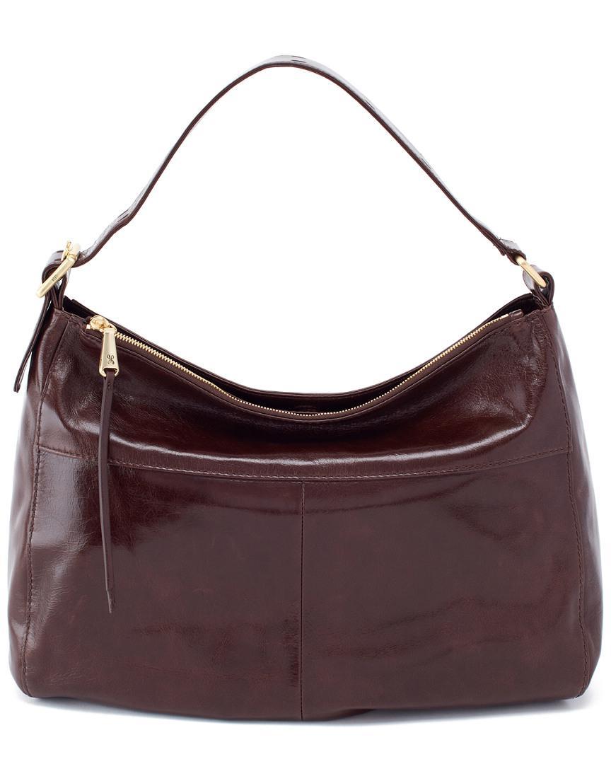 498901dfa57bef Hobo - Brown Quincy Leather Bag - Lyst. View fullscreen