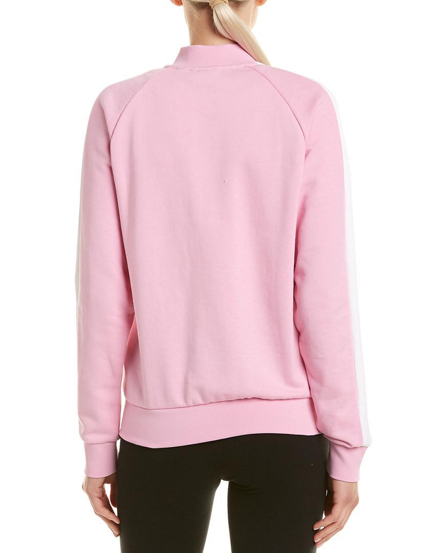 f82ad809ec4f Lyst - PUMA Classics T7 Jacket in Pink - Save 13%