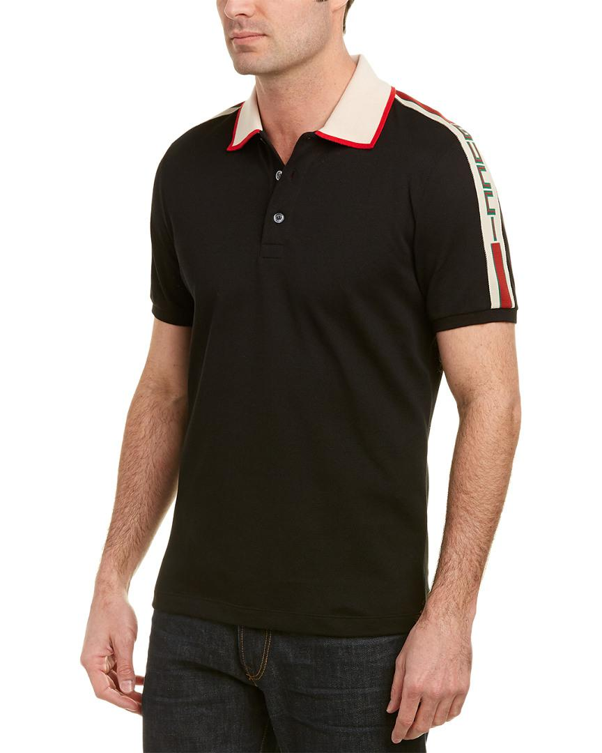 b2b4f03af4dd Imágenes de Gucci Black Polo Shirt