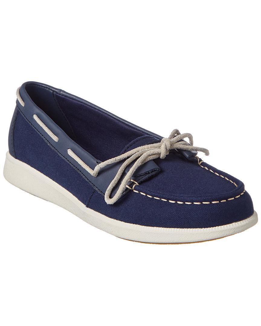 femmes catalyseur sperry haut sider oasis loft bateau chaussure bleu en bleu chaussure f51268