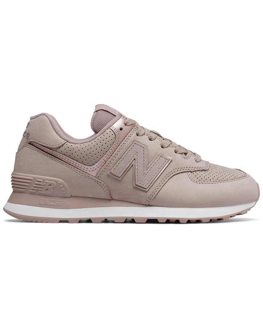 7a2f27535757 Lyst - New Balance 574 Trainer in Natural