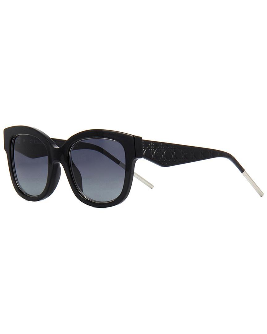 3198dfe3aa Lyst - Dior Very1n 51mm Sunglasses in Black