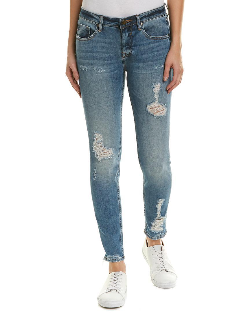 a131d511c98 Lyst - Vigoss Jagger Medium Wash Classic Fit Skinny Leg in Blue