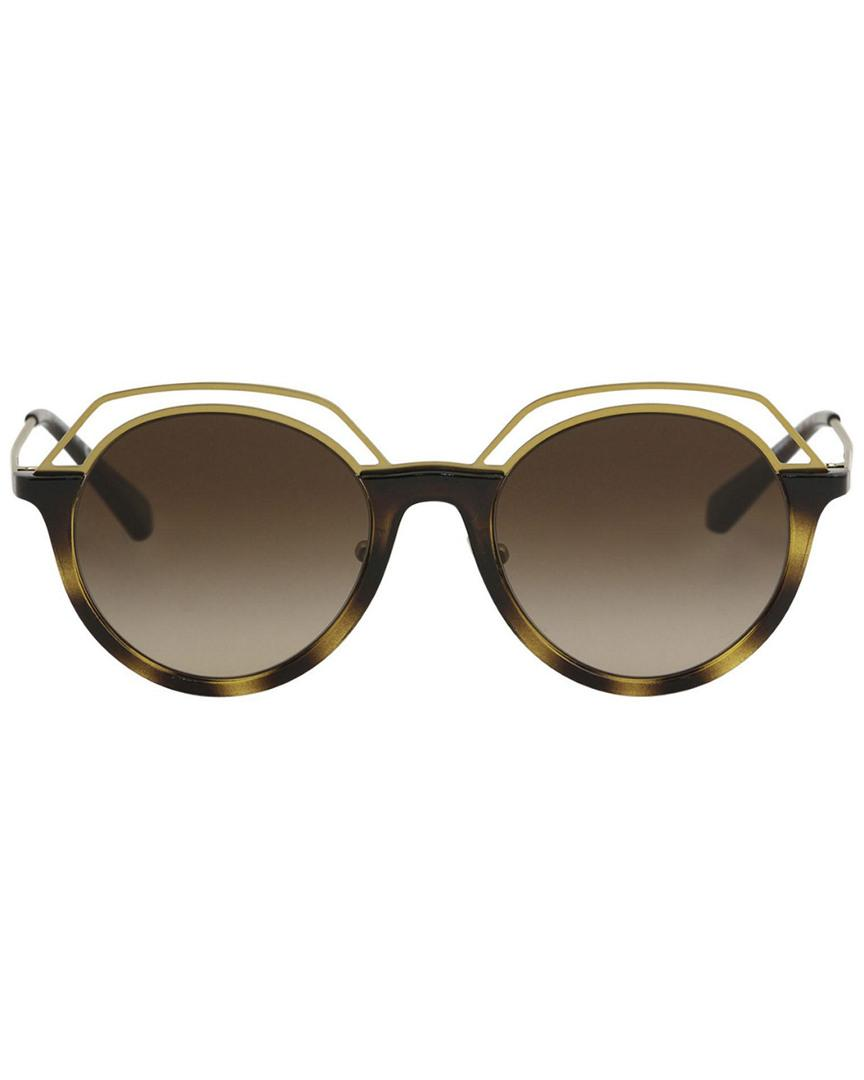 b36e0951ff Lyst - Tory Burch 51mm Sunglasses in Brown - Save 28%