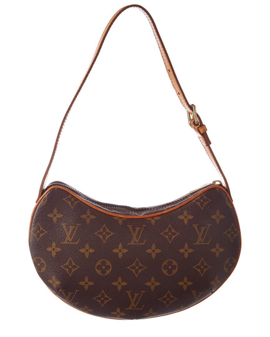 74af8bdc9521 Lyst - Louis Vuitton Monogram Canvas Croissant Pm in Brown