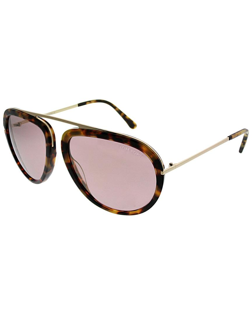 90b391ea0d8da Lyst - Tom Ford Aviator 57mm Sunglasses - Save 33.5195530726257%