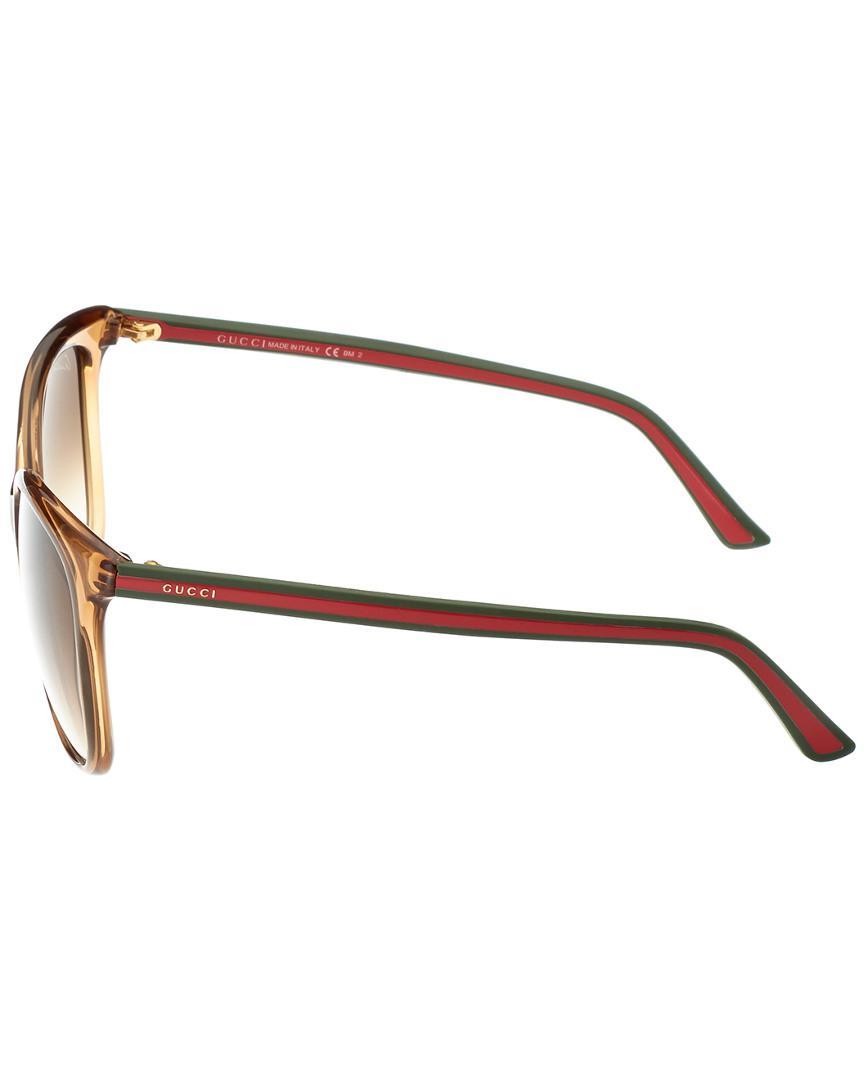 61cade7b0b Lyst - Gucci GG 3649 s 56mm Sunglasses