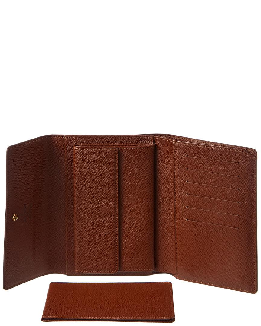 f1bd6b94c62b Louis Vuitton Monogram Canvas Porte Tresor Etui Papier Wallet in ...