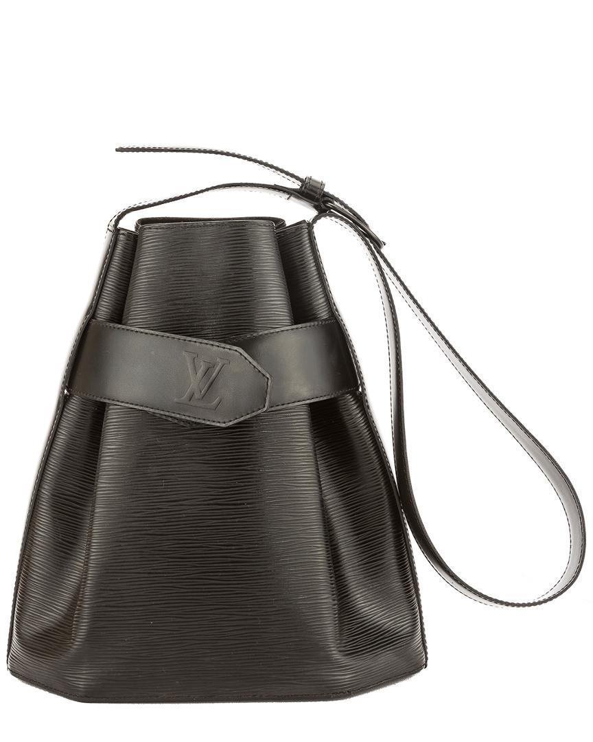 a25e499e21d6 Lyst - Louis Vuitton Noir Epi Leather Sac D epaule in Black