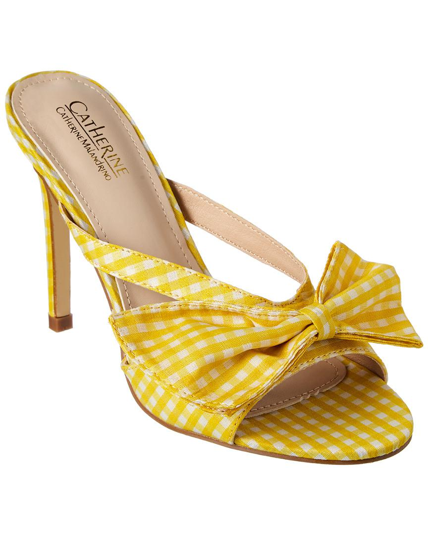 3c321f4ee2b Lyst - Catherine Malandrino Abree Sandal in Yellow