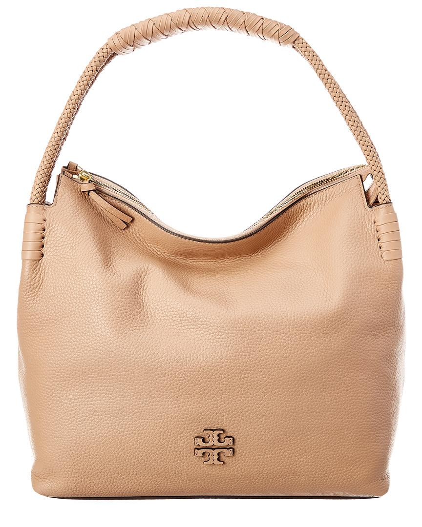 edfa7c926 Tory Burch Taylor Leather Hobo in Natural - Lyst