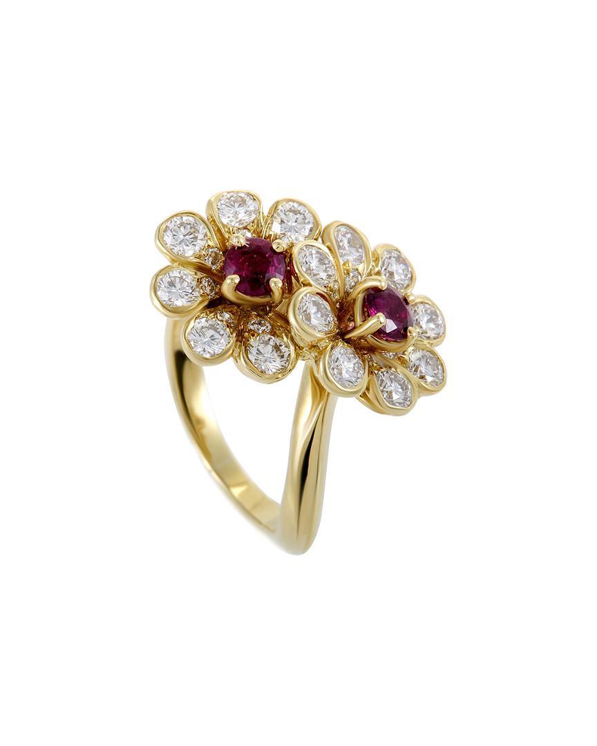 dc1141e64 Heritage Tiffany & Co. Tiffany & Co. 18k 0.55 Ct. Tw. Diamond & Ruby ...