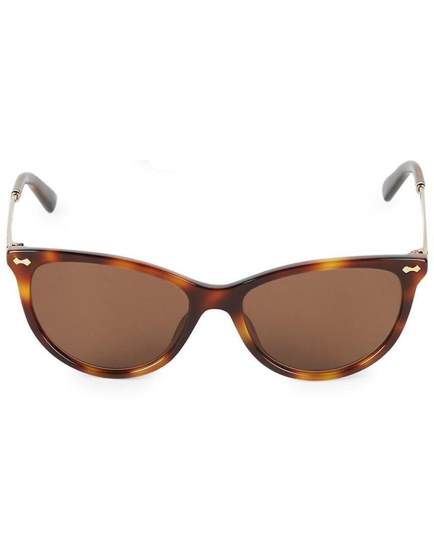 14618f5467 Lyst - Gucci Gg 3818 50mm Polarized Sunglasses in Brown