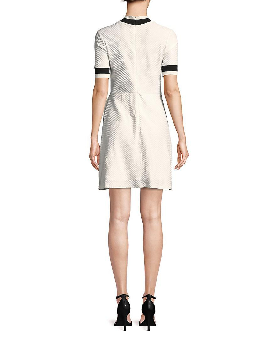 c7735e5f28 French Connection Savos Sudan Jersey Dress in White - Save  62.71186440677966% - Lyst