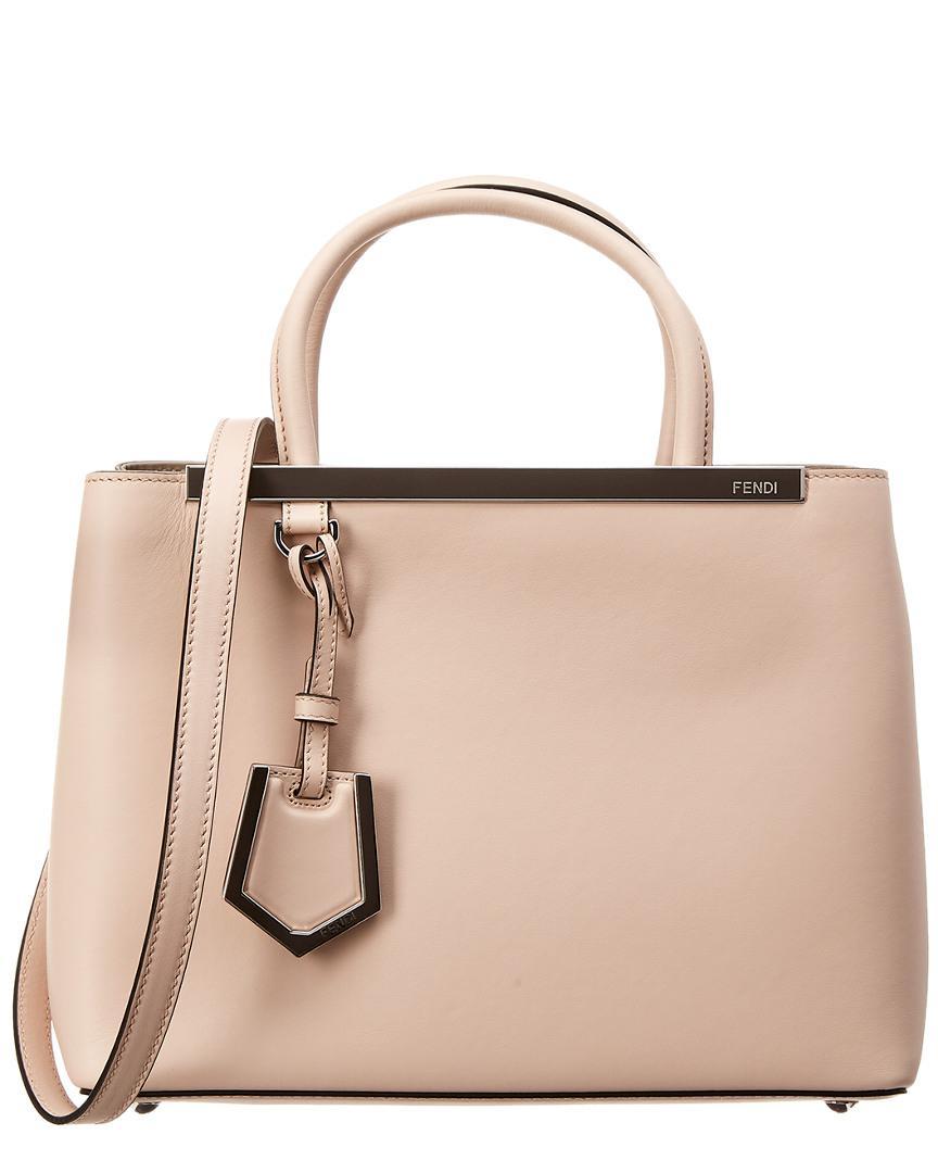 Fendi - Pink Petite 2jours Leather Tote - Lyst. View fullscreen 0c151fe4f3d1c