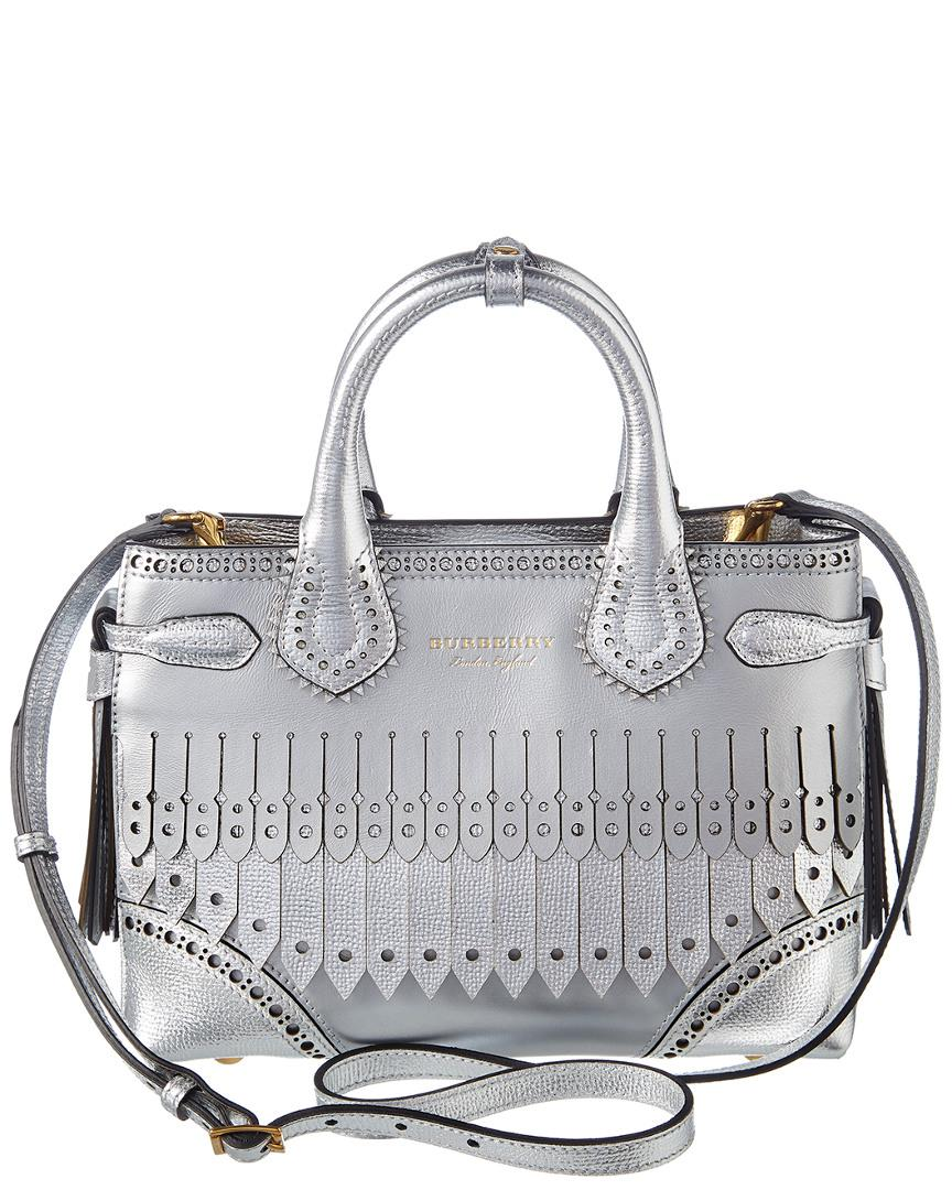 4cba0a4ad66df6 burberry-Silver-Small-Banner-Brogue-Detail-Metallic-Leather-Crossbody.jpeg