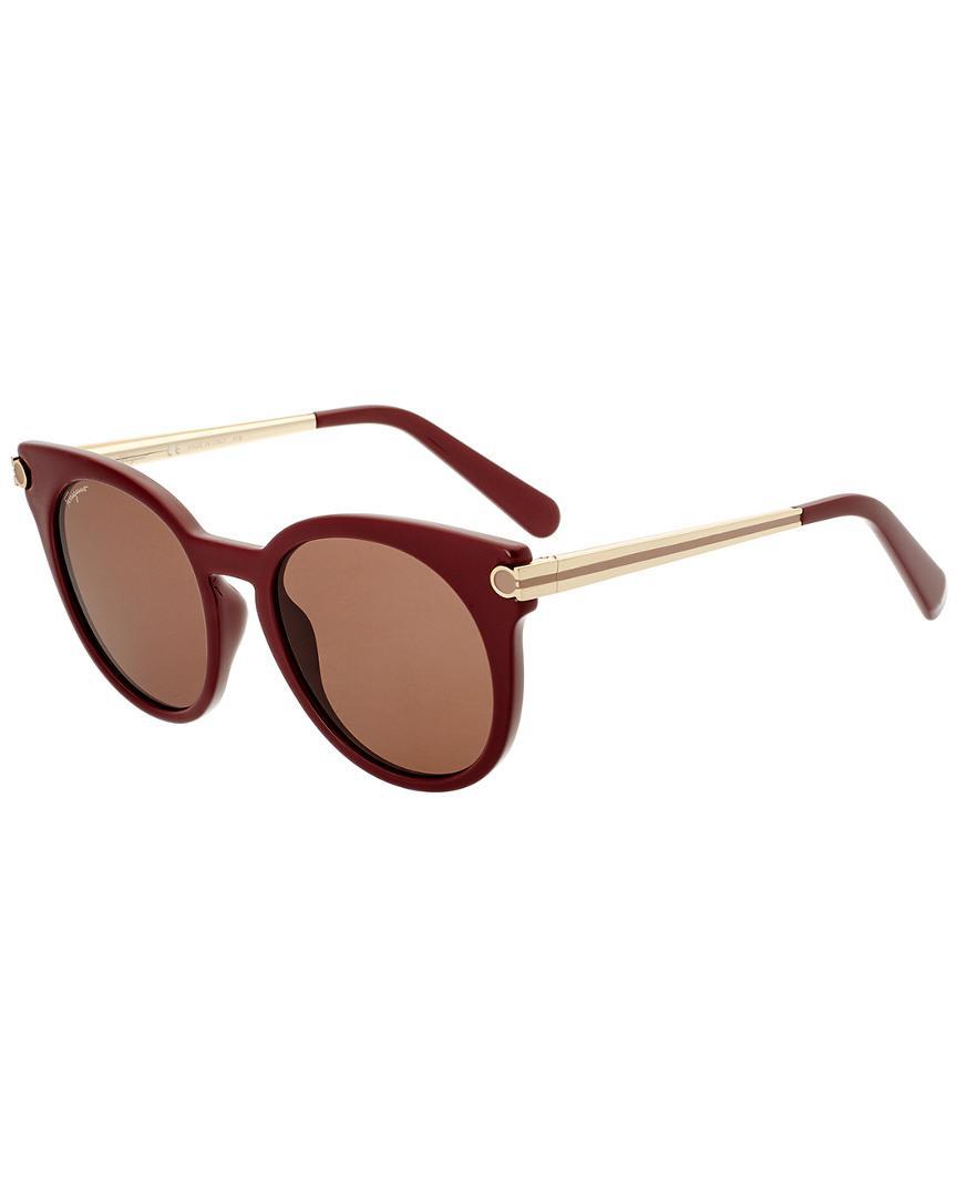 1ee9ef832723 Lyst - Ferragamo Women s Sf831s 51mm Sunglasses