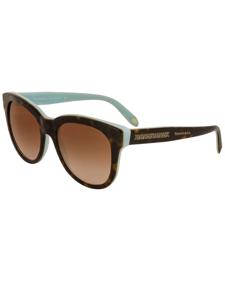 bcd791effa22 Lyst - Tiffany   Co   Co. Women s Tf4112 53mm Sunglasses