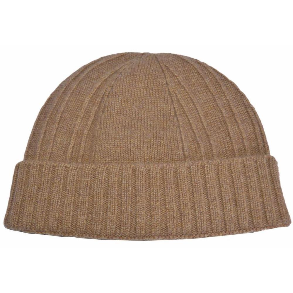 45786ac319c56 Gucci Brown Camel Web Cashmere Beanie Ski Hat for Men - Lyst