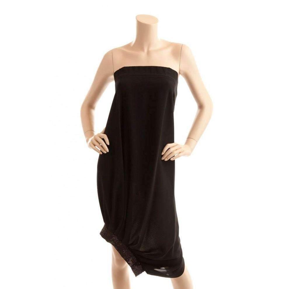 4a713375ec BCBGMAXAZRIA. Women s Bcbg Maxazria Runway Strapless Black Cocktail Sequin  Dress
