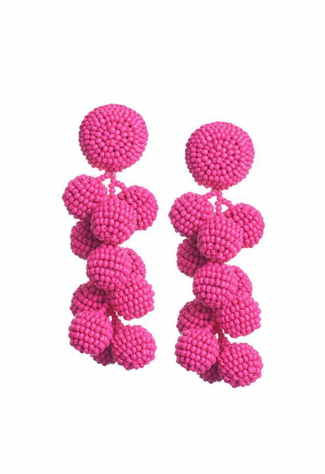 Sachin & Babi Coconuts Earrings Fuschia pBkP23