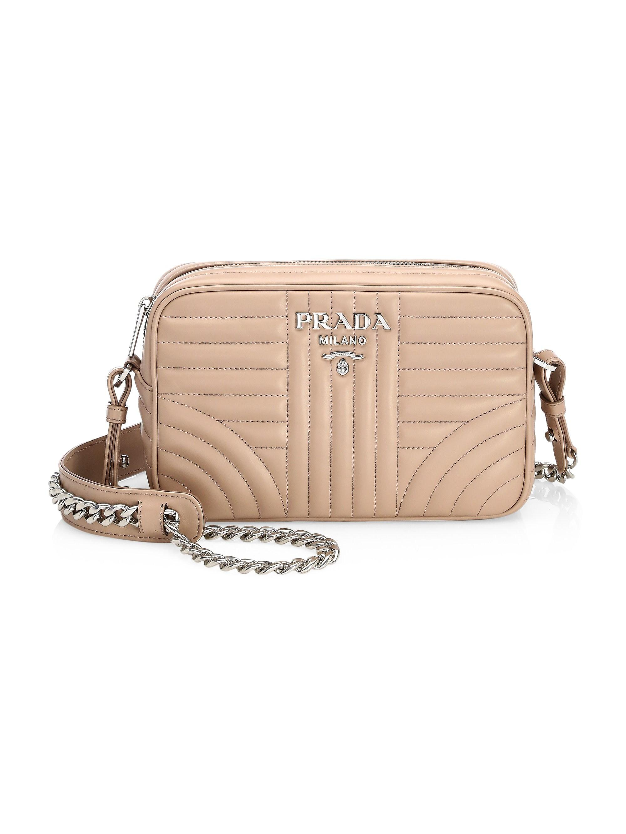 d553403dc672 Lyst - Prada Women s Diagramme Camera Bag - Esmeraldo