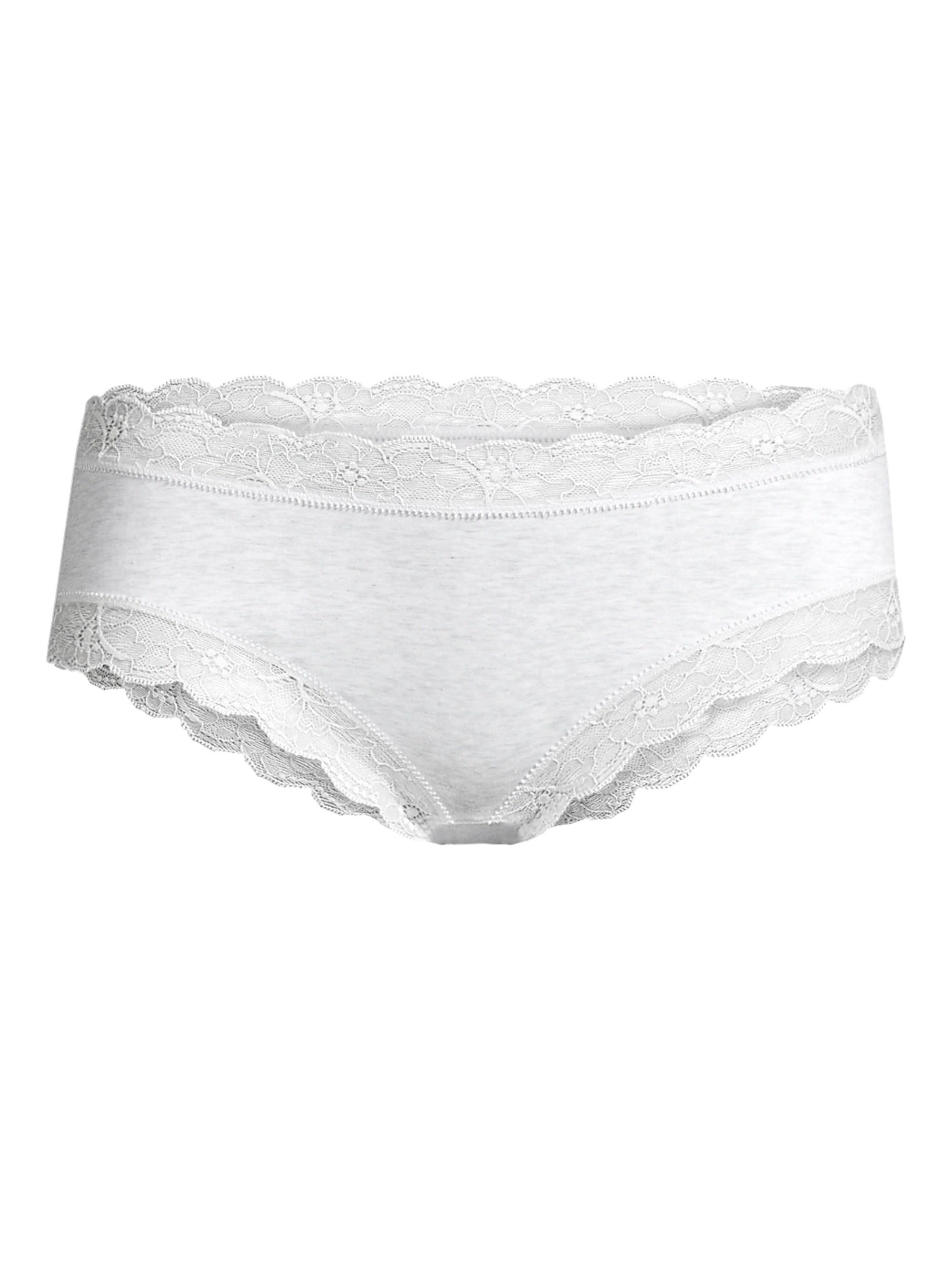 3045093efa5 Hanro Cotton Lace Hipster in White - Lyst