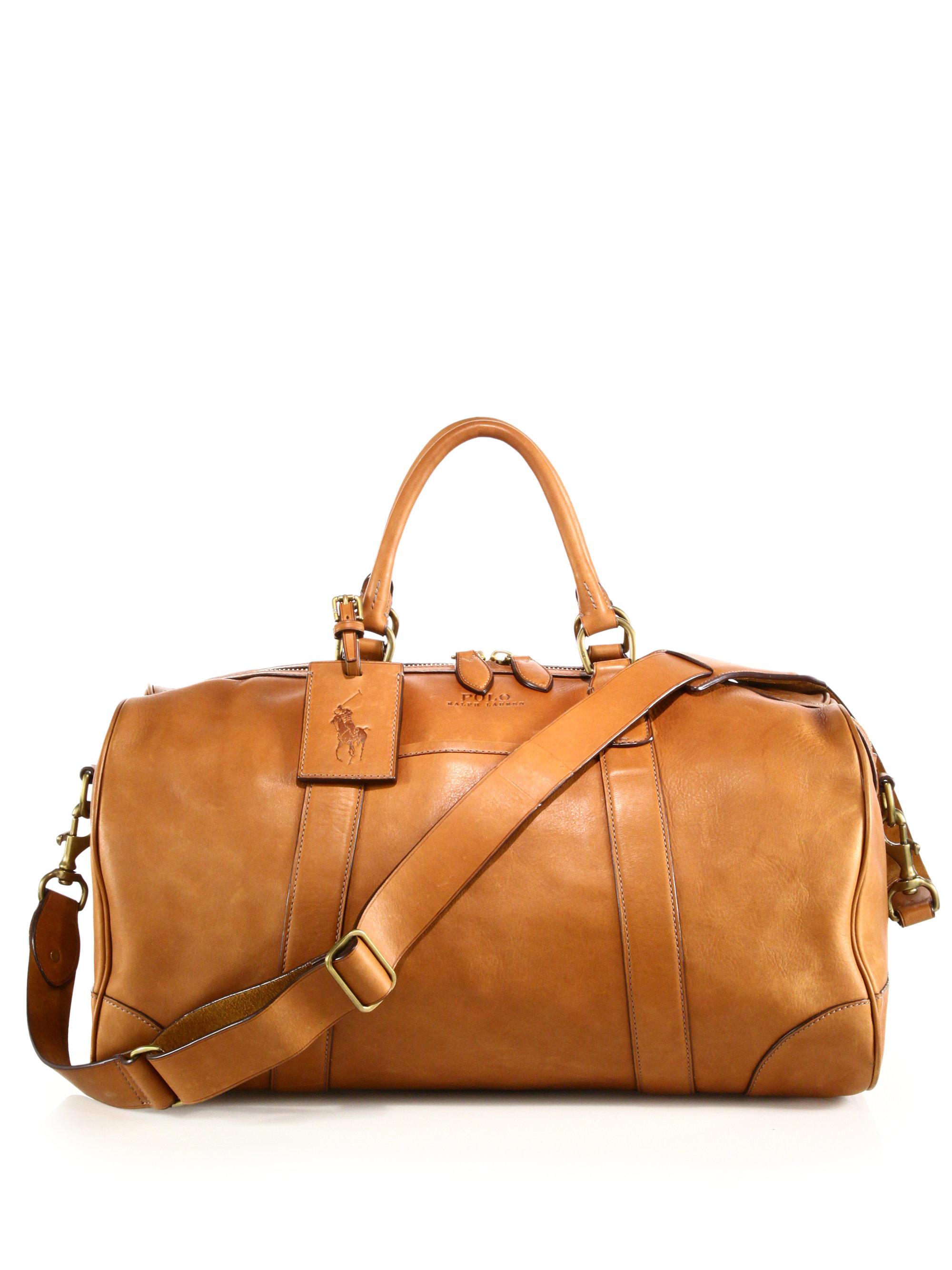 725f59d243b Polo Ralph Lauren Core Leather Duffle Bag   ReGreen Springfield