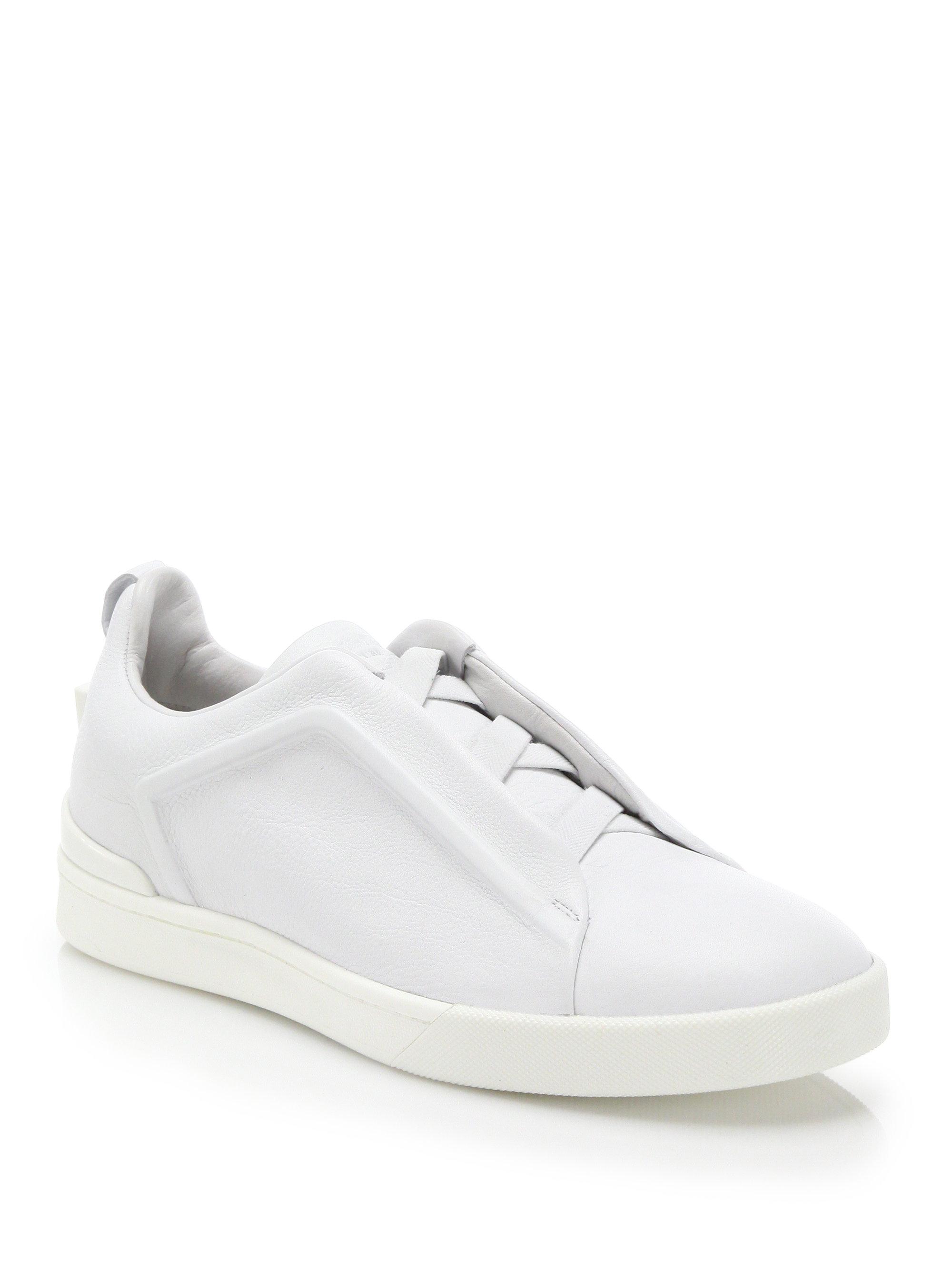 triple stitch sneakers Ermenegildo Zegna sVgxs7Eb