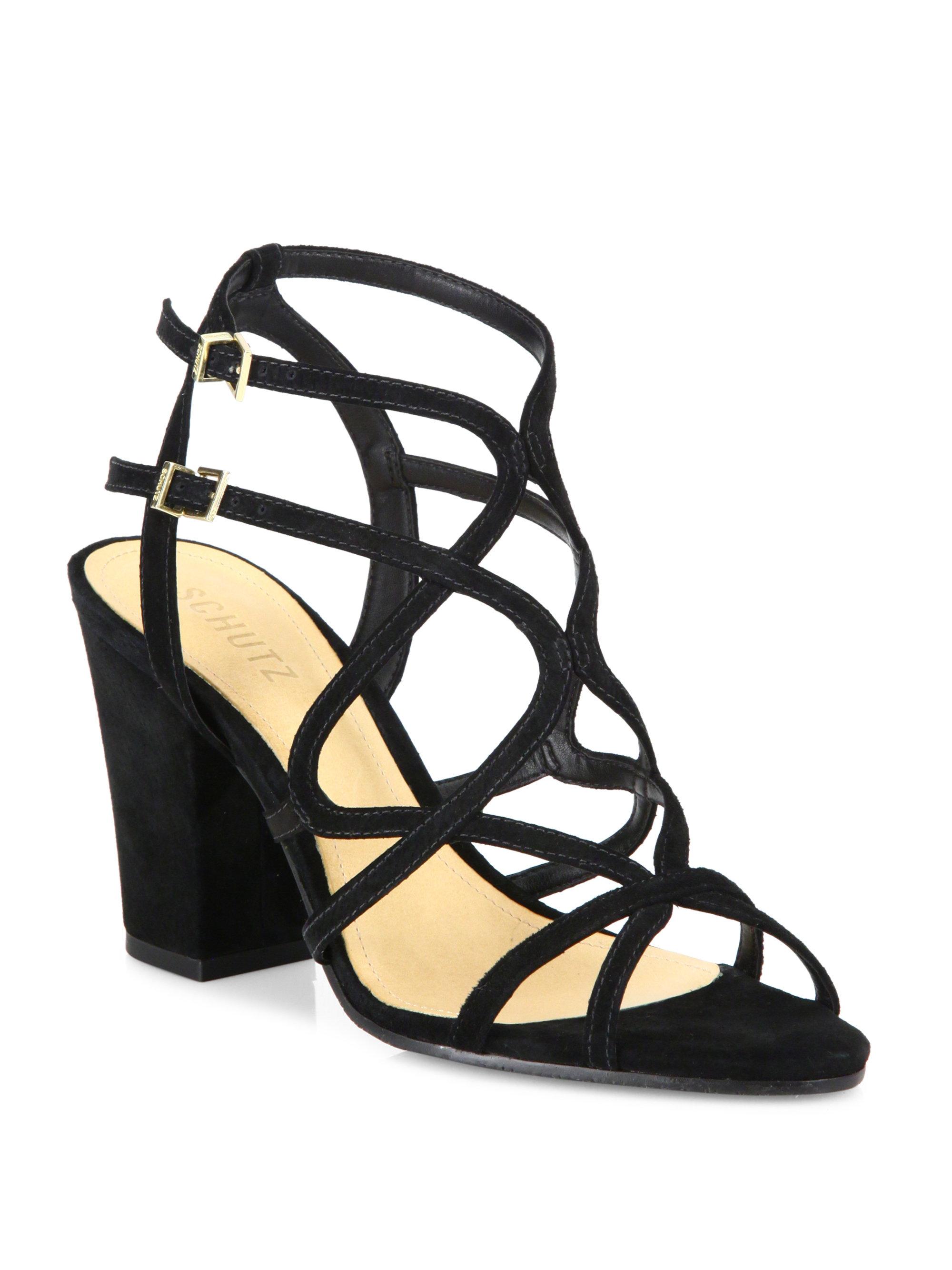 strappy high heel sandals - Black Schutz f9HJ4IbGy2