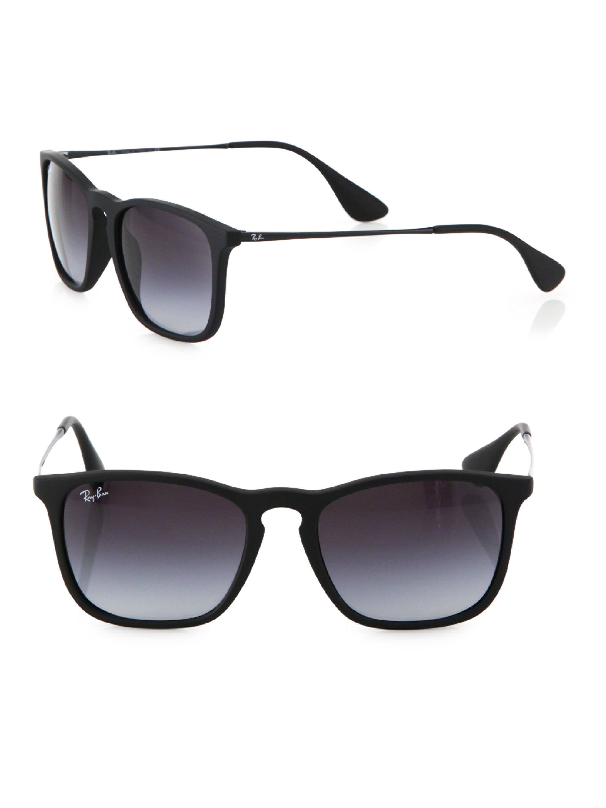 Ray-ban Square Sunglasses in Black for Men | Lyst