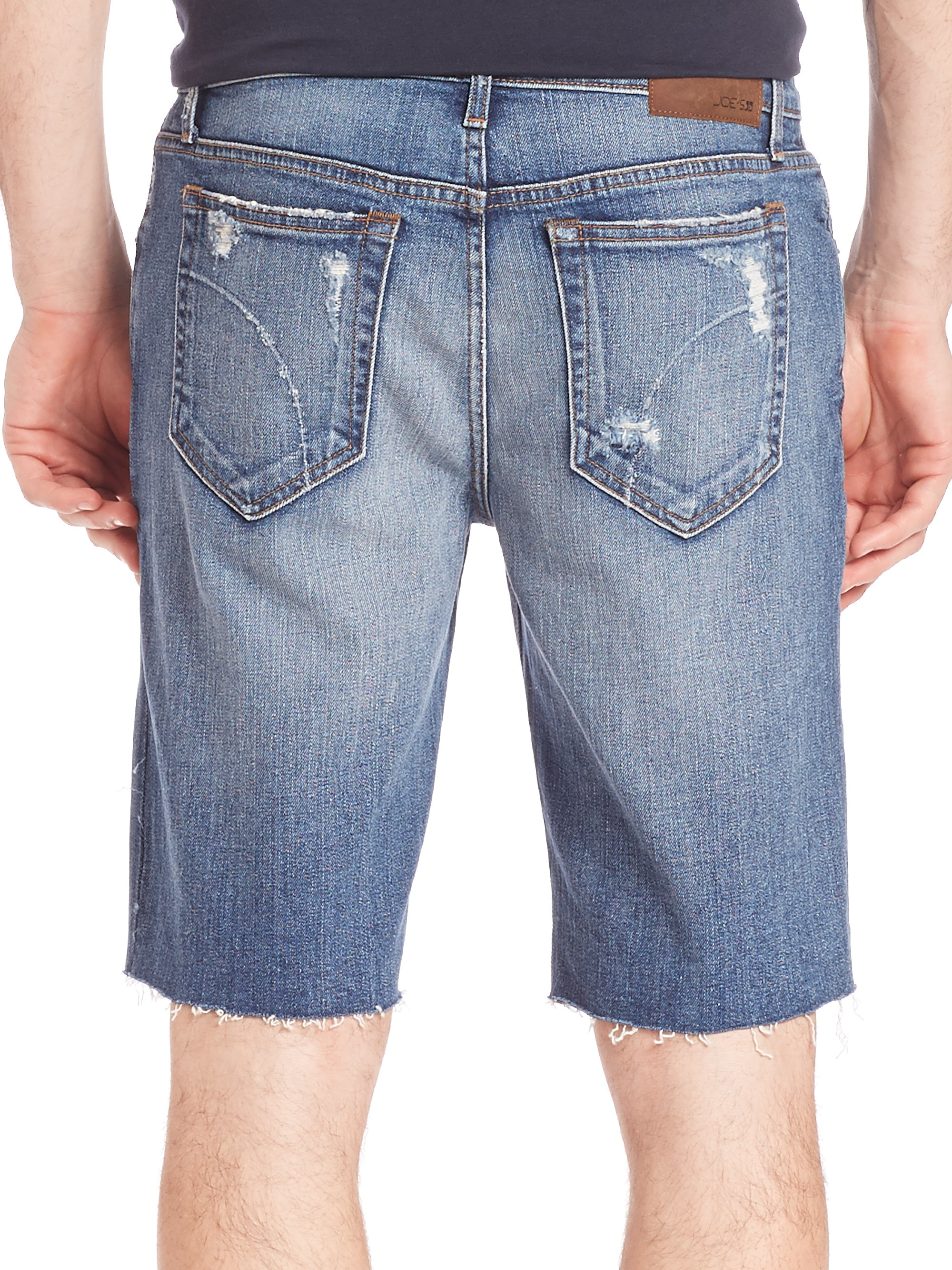 how to make cut off jeans men