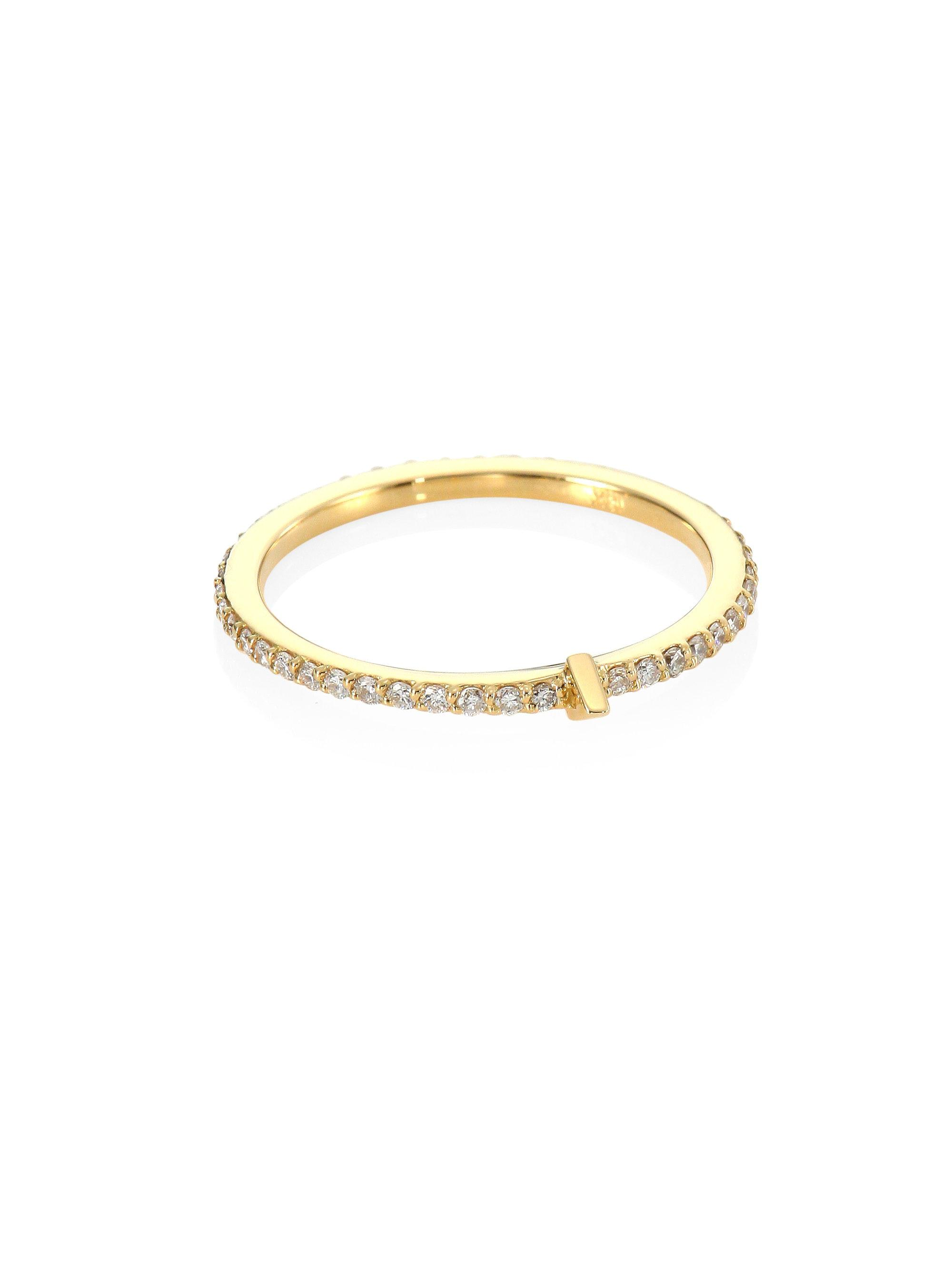 ring my iphone novick tplt amp 18k yellow gold midi ring in 1498