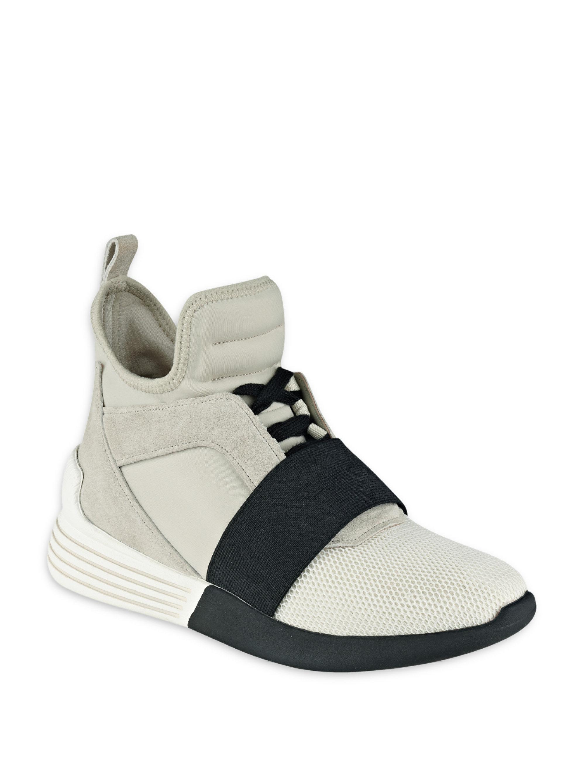 Lyst - Kendall + Kylie Braydin High-top Sneakers in Blue f83b7e216