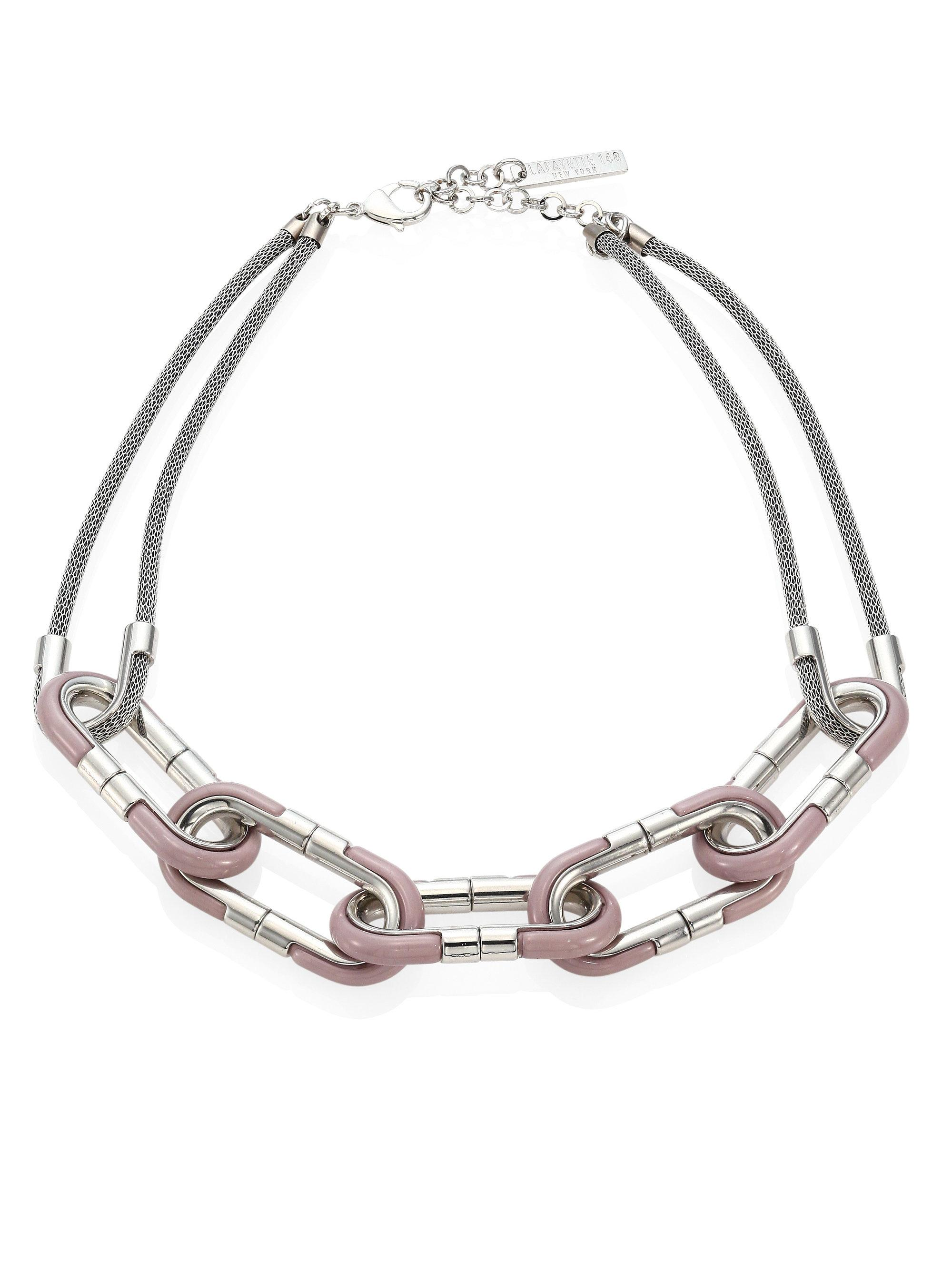 ... link necklace 228 from saks fifth avenue free shipping with saks fifth