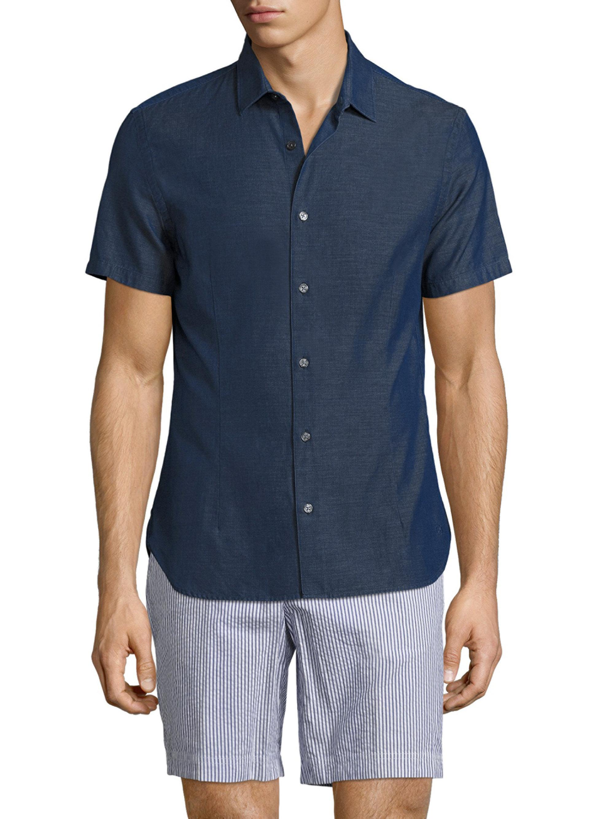 Orlebar brown Morton Tailored-fit Denim Shirt in Blue for ...