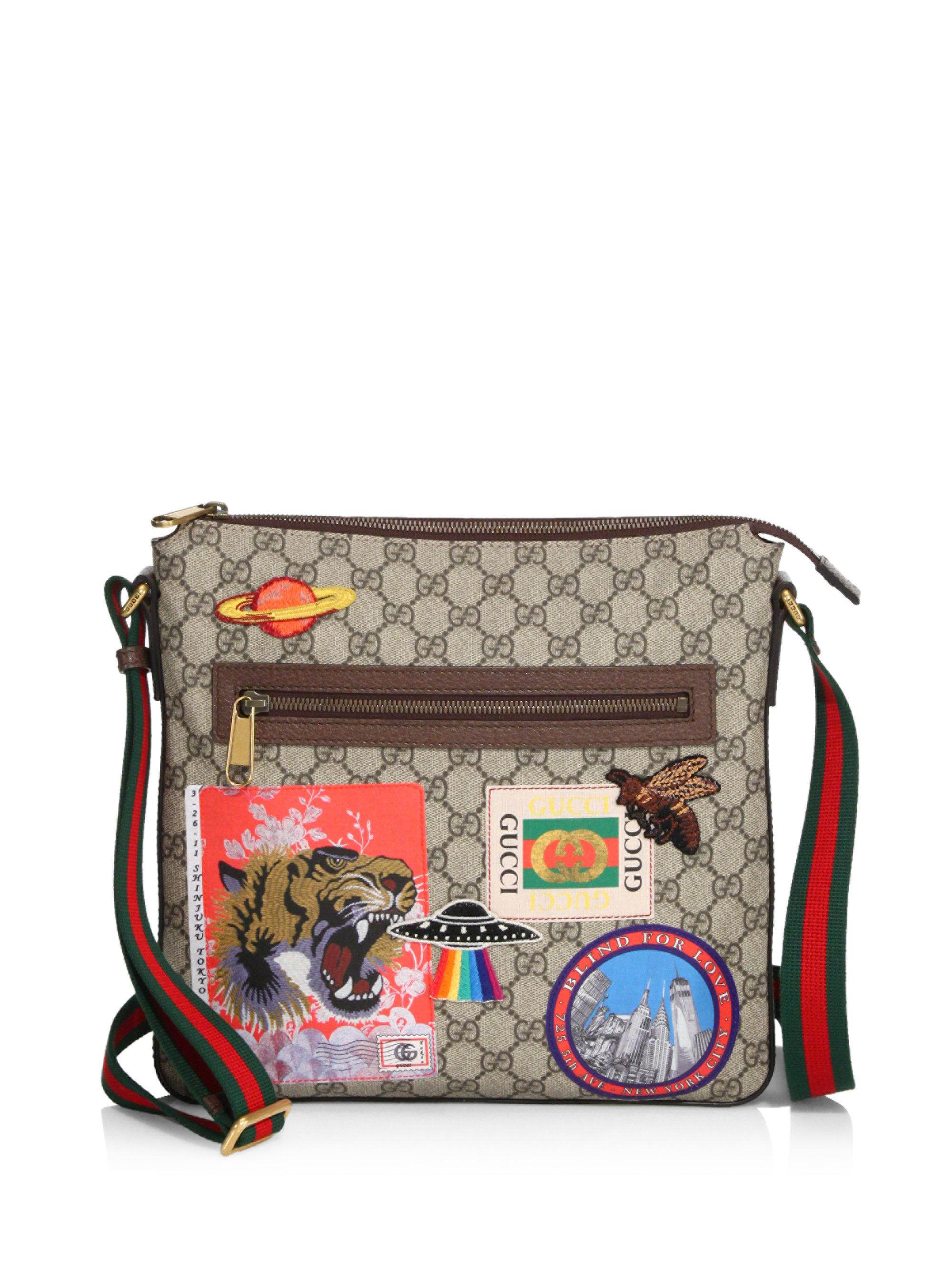 1ac4c5fab74a59 Gucci Messenger Bags For Men Patch | Stanford Center for Opportunity ...