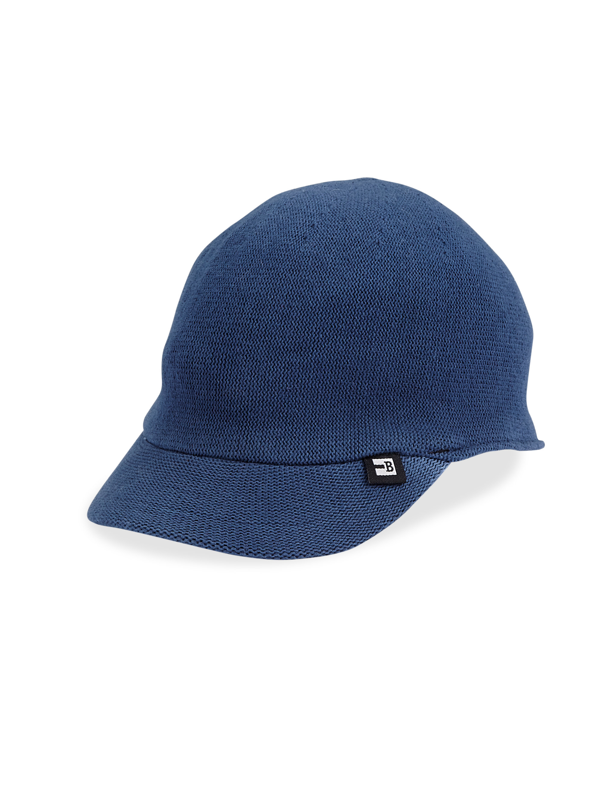 Block Headwear Club Cotton Knit Baseball Hat In Blue For