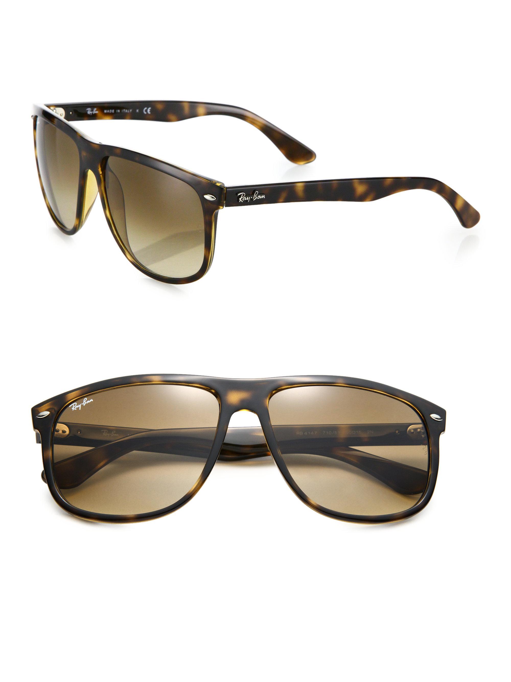ray ban flat top boyfriend sunglasses  ray ban