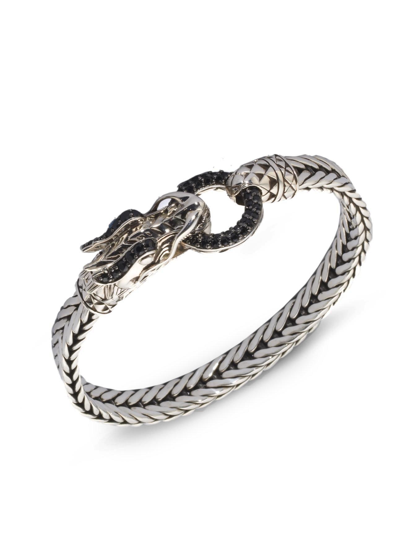 John Hardy Naga Black Sapphire Amp Sterling Silver Dragon