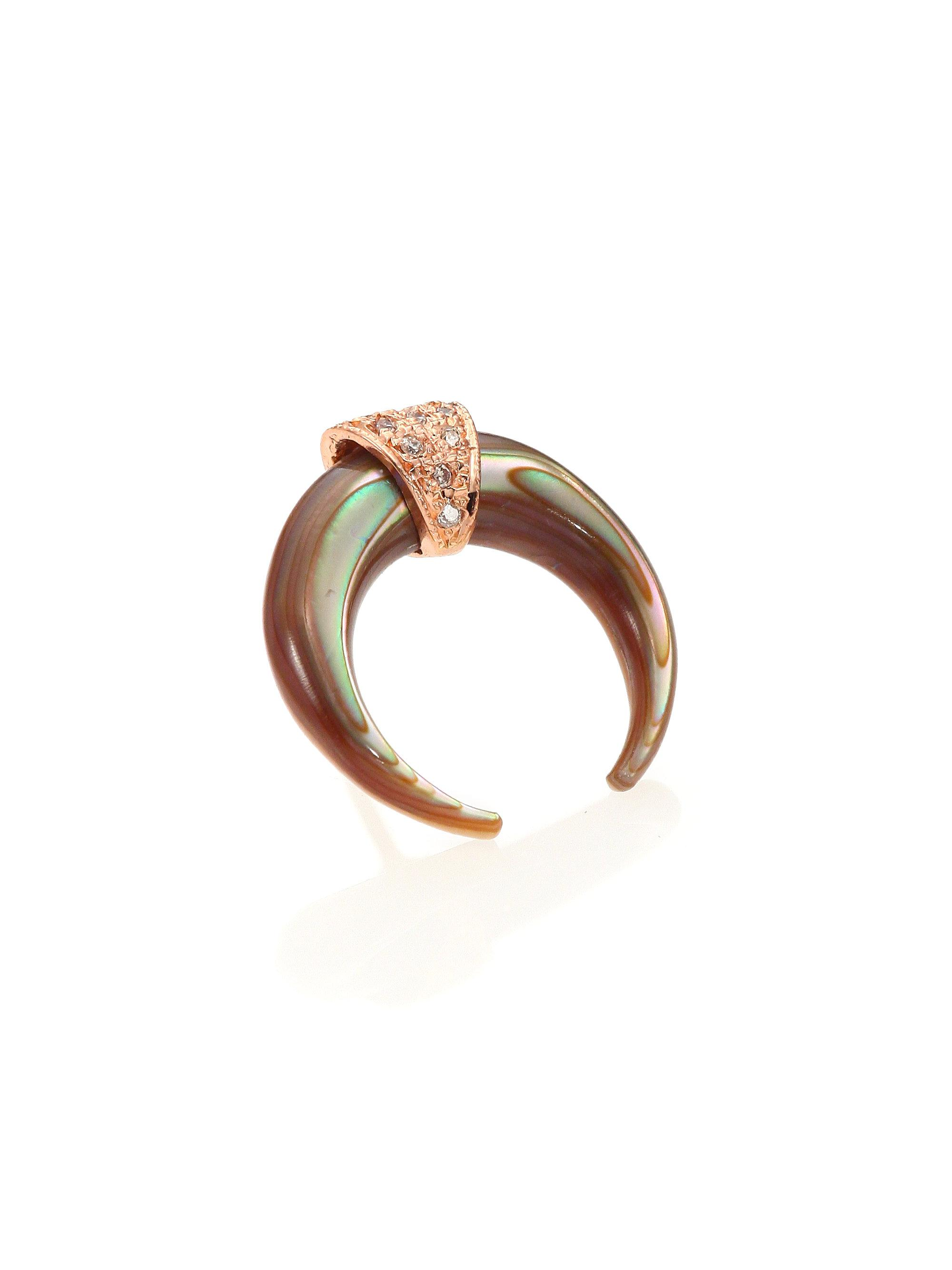 maya circle lagos com doublet ring rings abalone lagosjewelry pin engagement