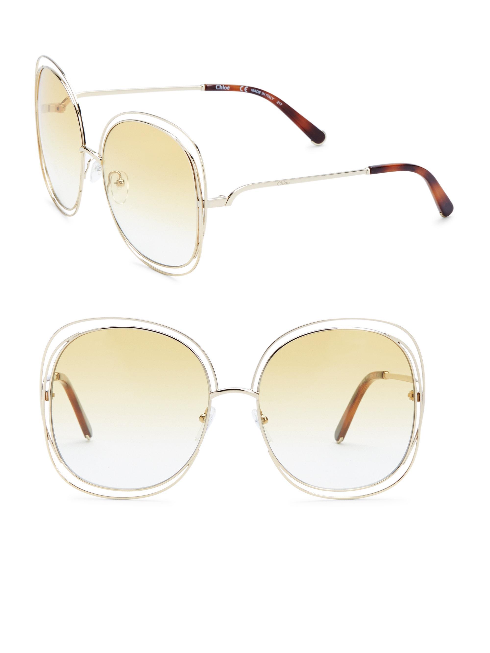 4d0808e5636 Chloé Round Sunglasses – Grey Marble « One More Soul