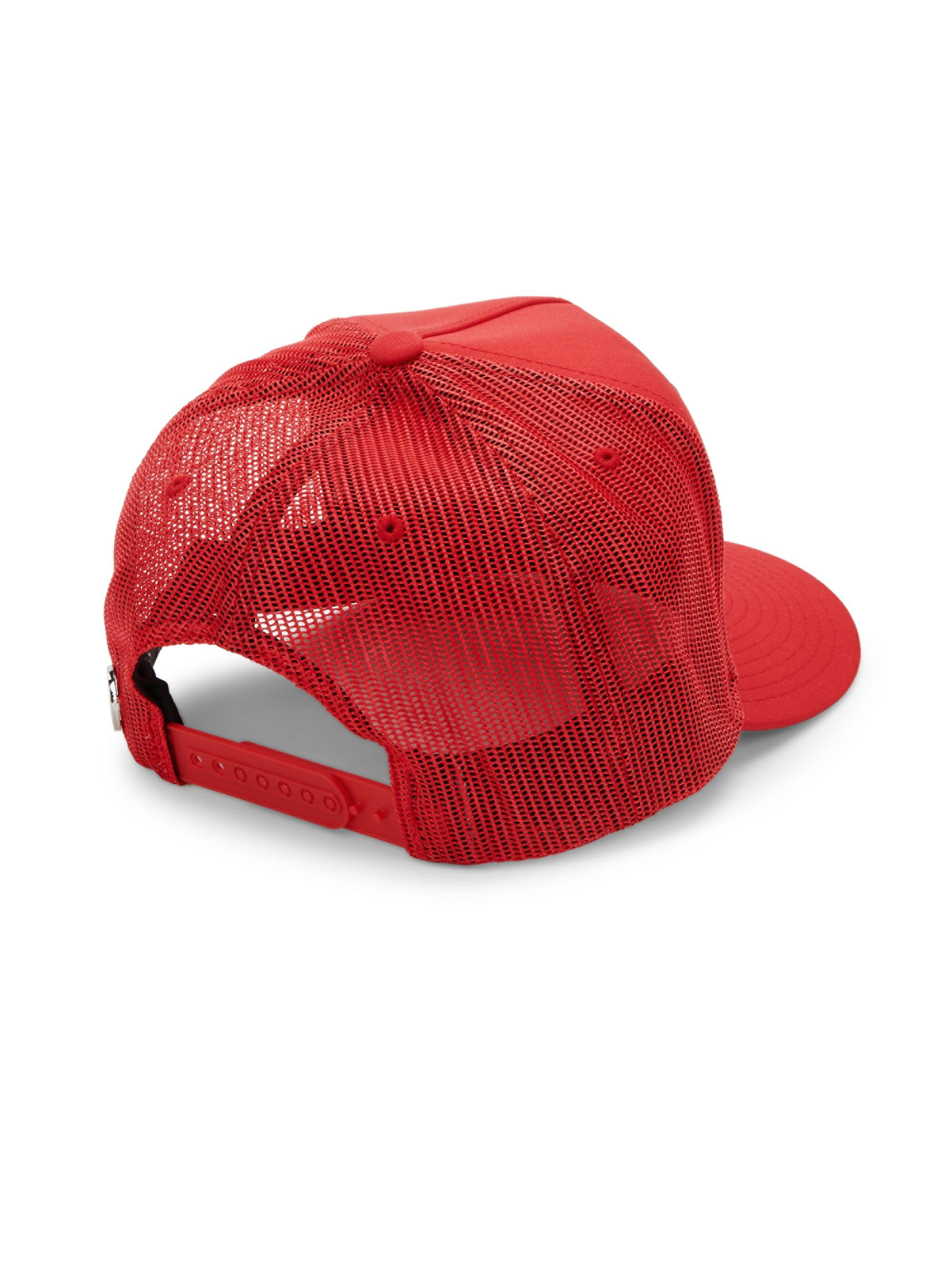 a81128ef1a3 G FORE - Red Men s Can t Break 80 Trucker Hat - Scarlet for. View fullscreen